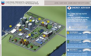 SimCity Energy Game Chevron